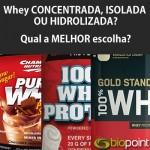 Saiba quais são os tipos de Whey Protein e quais seus benefícios.