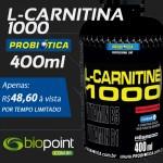 Promoção L-Carnitina 1000 Probiótica
