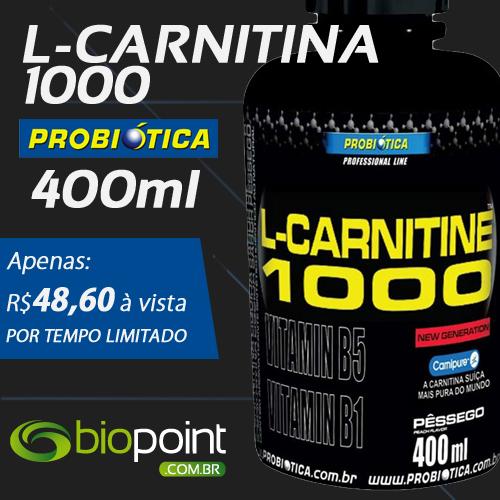 Comprar L-Carnitina 1000 Probiótica