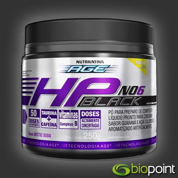 Comprar HP NO6 Black Nutrilatina