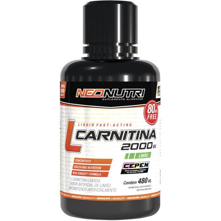 L-Carnitina 2000mg Neo Nutri