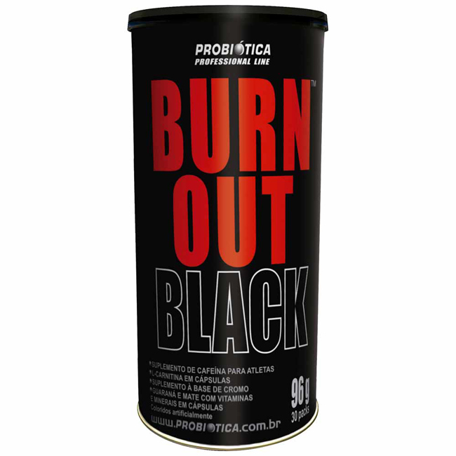 Burn out black probiótic