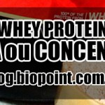 Comprar Whey Protein Isolado ou Concentrado?