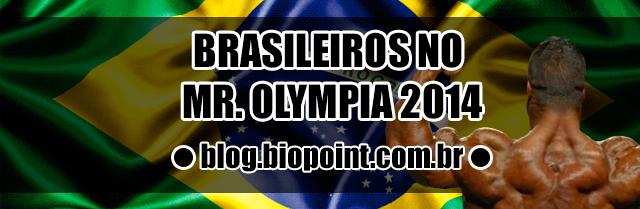 Brasileiros Mr. Olympia
