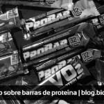 Relato sobre barras de proteínas