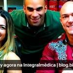Carlos Tomaiolo e Michelly Crisfepe assinam com a Integralmédica