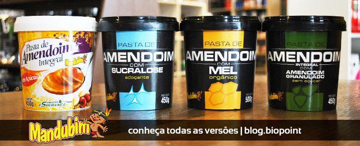 Conheça as Pastas de Amendoim da Mandubim