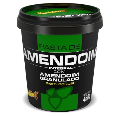 Pasta de Amendoim com Granulado