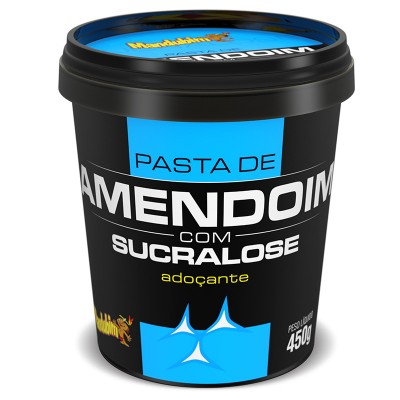 Pasta de Amendoim com Sucralose