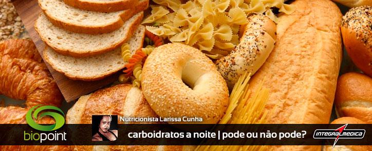 Consumir carboidratos noite