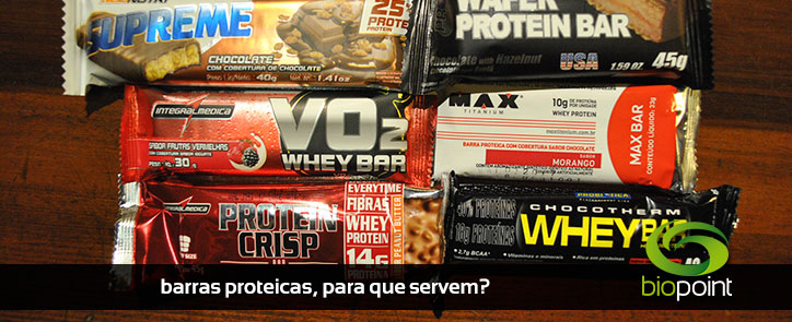 Porque consumir Barras Proteicas?
