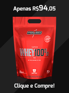 Comprar Super Whey 100% Integralmédica