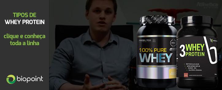 Comprar um bom Whey Protein