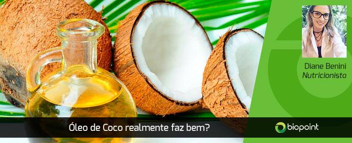 oleo de coco faz bem