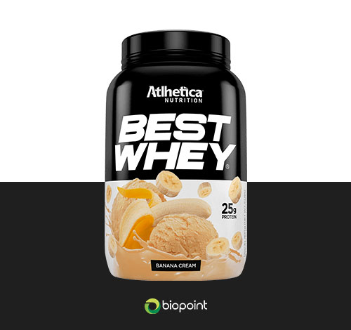 best whey banana cream atlhetica