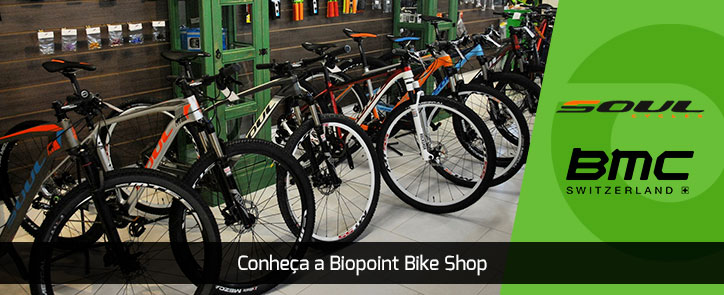 Conheça a Biopoint Bike Shop