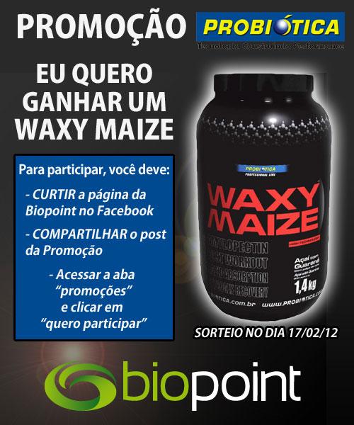 Concorra a um Waxy Maize Probiótica