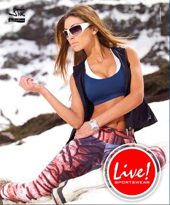 Comprar roupas Live Fitness