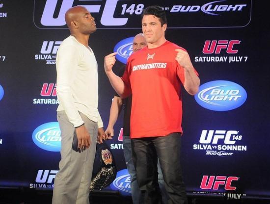 UFC 148  - Anderson Silva encara Chael Sonnen pela segunda vez