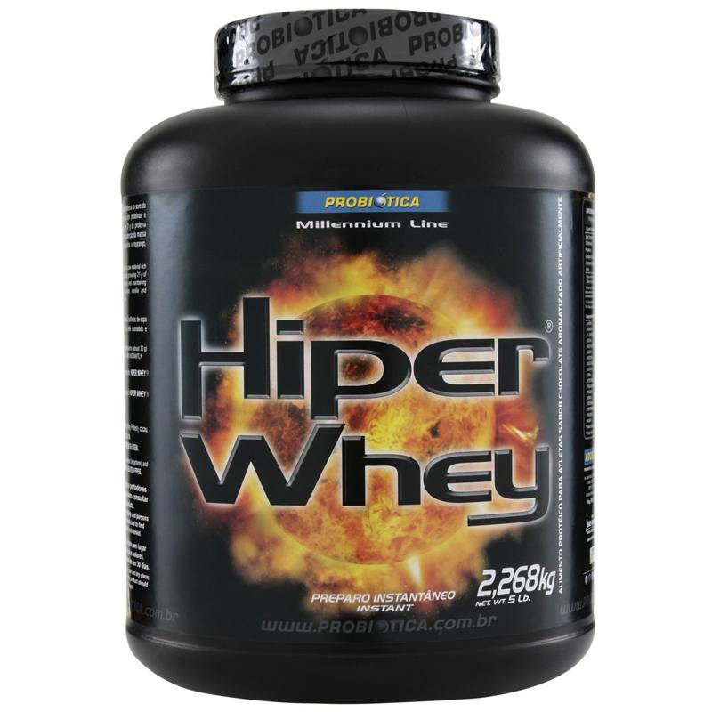 Relato sobre o Hiper Whey Protein Probiótica