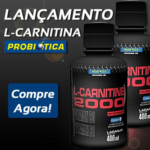 Lançamento L-Carnitina Probiótica