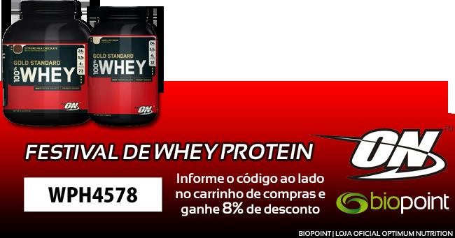 Festival de Whey Protein Optimum Nutrition