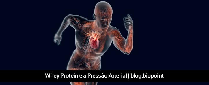 Consumir Whey Protein diminui a Pressão Arterial