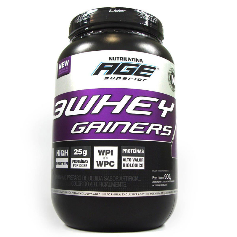 3 Whey Gainers