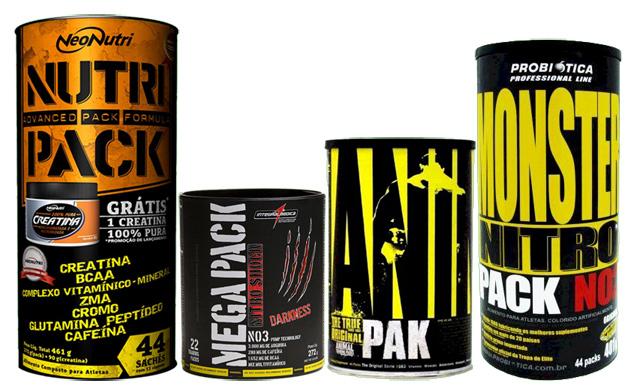 Os Pack's potencializam os treinos!