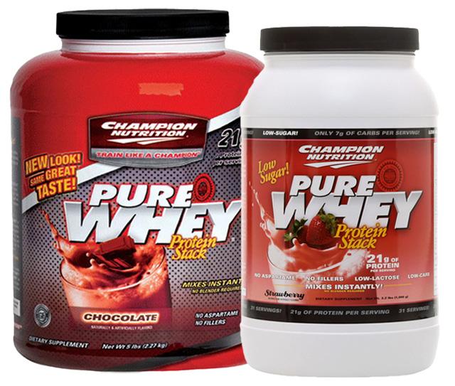 Suplemento do Dia: Pure Whey Protein Champion