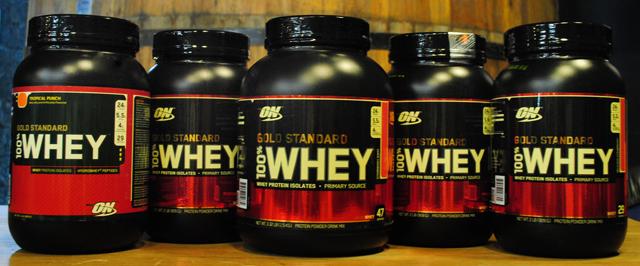 100% Whey Gold Optimum é o mais vendido do mundo!