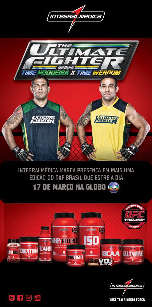 TUF Brasil 2013 será patrocinado pela Integralmédica