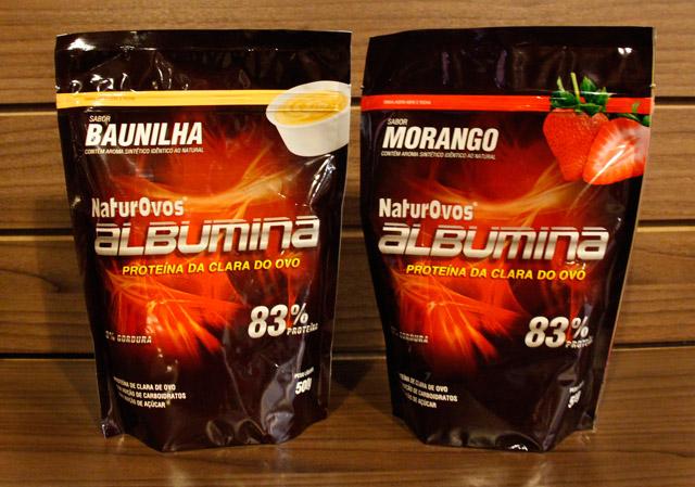 A Albumina Naturovos é produzida com 83% de Proteína!