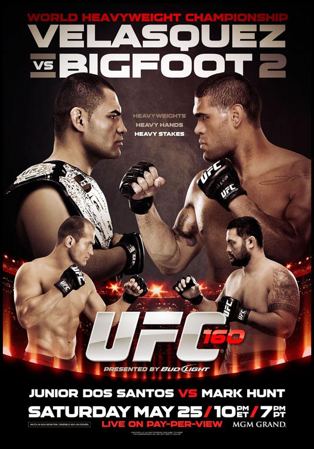 Lutas marcadas no UFC 160