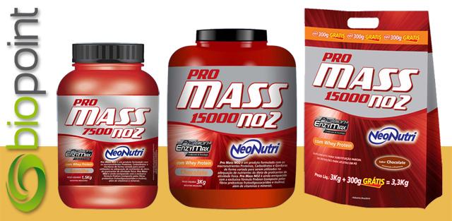 Pro Mass NO2 é ideal para ganho de peso