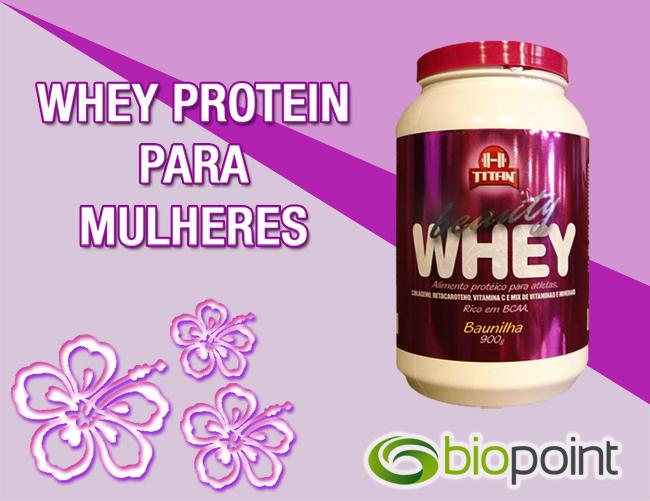 Beauty Whey - Whey Protein para mulheres!