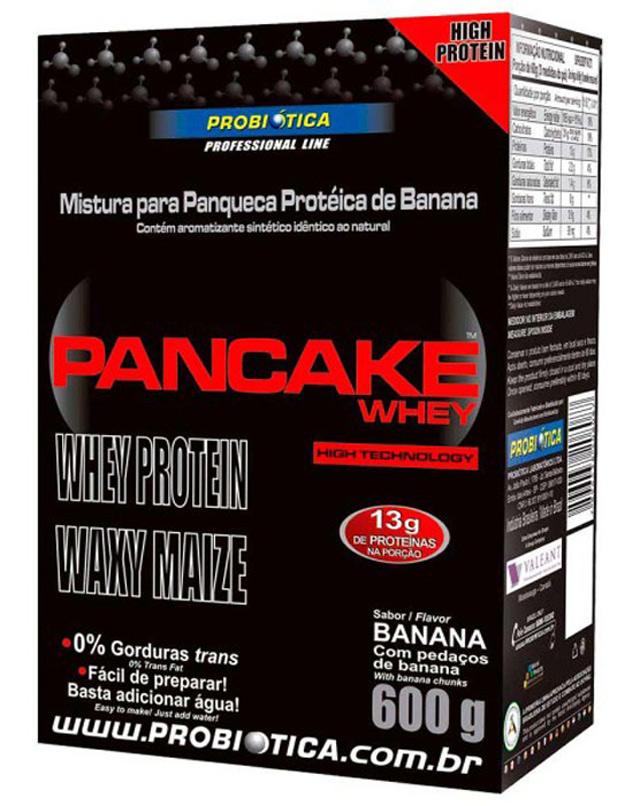 Relato sobre Pancake Whey, da Probiótica