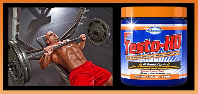 Testo-HD é a chave para o ganho de massa muscular