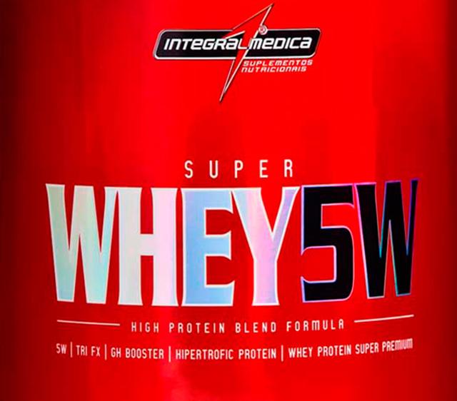 Super Whey 5W - Você precisa dele!