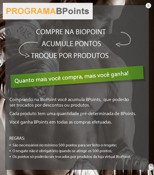 Biopoint lança programa de Fidelidade BPoints
