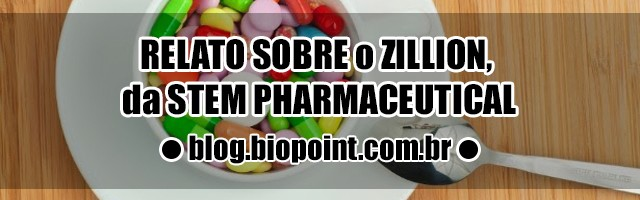 Relato sobre o Zillion Multivitamínico da Stem Pharmaceutical