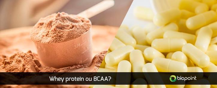 Whey Protein ou BCAA | Qual a melhor opção?