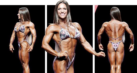 OKSANA GRISHINA Fitness Olympia 2014