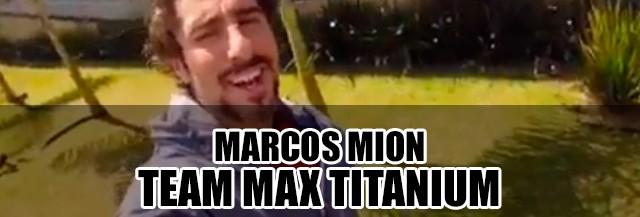 Marcos Mion entra para o team Max Titanium Suplementos
