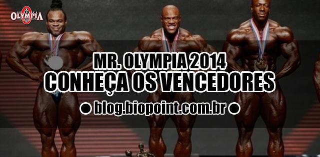 Vencedores do Mr Olympia 2014 Resultados
