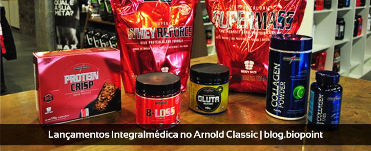 Lançamentos Integralmédica no Arnold Classic Brasil