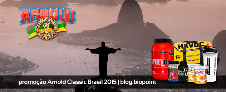 Promoção Arnold Classic Brasil Biopoint