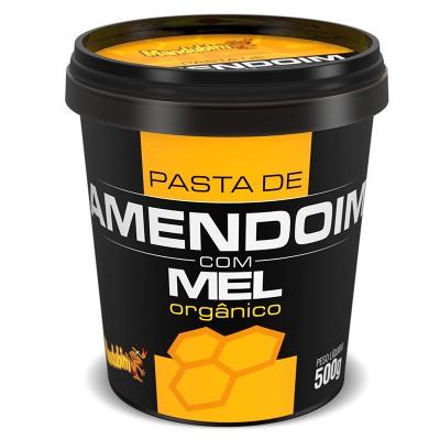 Pasta de Amendoim com Mel Orgânico