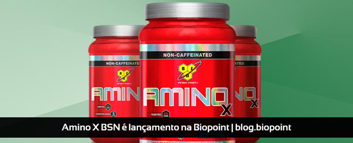 Amino X BSN é lançamento na Biopoint