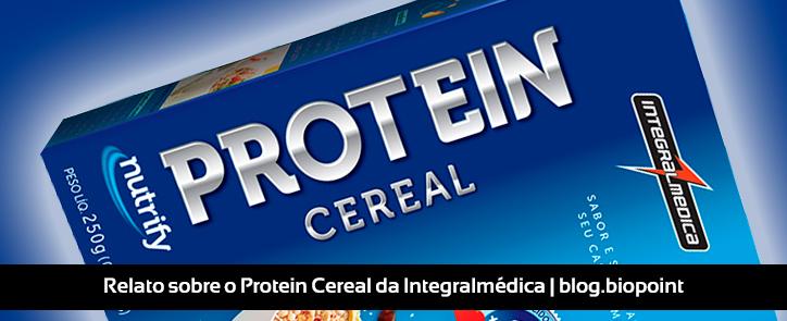 Relato sobre o Protein Cereal da Integralmédica